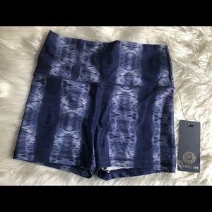Scorpio Sol tie dye shorts